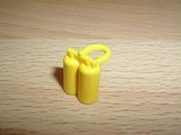 Bouteille de plongée jaune