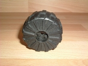 Roue noire Ø 5,5 cm largeur 3,1 cm