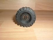 Roue noire Ø 4,3 cm largeur 1,2 cm