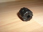 Roue noire Ø 2,3 cm largeur 2,3 cm