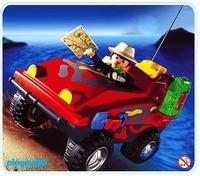Playmobil Explorateur véhicule amphibie 3216
