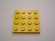Plaque 16 picots 4x4