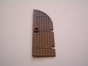 Porte chateau marron  5,5 x 2 cm