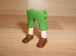 Jambes pantalon vert Neuves