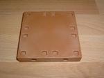 Plancher marron carré