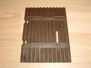 Porte marron