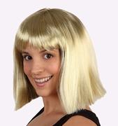 Perruque au carré blonde
