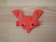 Emblème rouge neuf