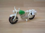 Moto première génération verte
