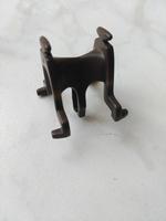 Equipement selle pour âne marron en l'état