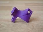Equipement selle pour jongleur violet