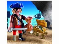 Pirate avec coffre au trésor 4753