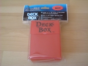 Deck box ultra pro red neuf
