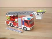 Camion de pompiers grande echelle neuf sans boite