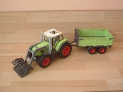 Tracteur avec remorque neuf sans boite