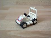 Karting blanc