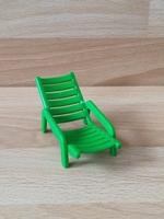Chaise longue vert