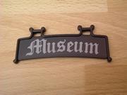 Enseigne museum neuve