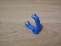 Crochet bleu pour fixation chevaux