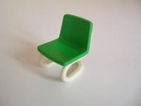 Chaise de bureau verte