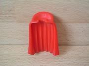 Cape rouge avec col