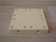 Plancher jaune  9 x 9 cm