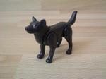 Loup noir neuf