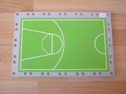 Plancher rectangulaire 27 x 18 cm avec tapis