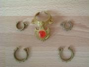 Equipement collier et bracelets pour dragon