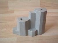 Rocher gris 2 trous