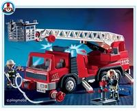 Playmobil Pompiers camion grande échelle 3182