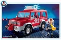 Playmobil Pompier véhicule d'intervention RC 3181