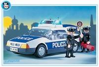 Playmobil Policiers voiture de police 3904