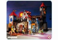 Playmobil Château fort pont levis 3666 (boîte un peu abîmée)