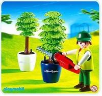 Playmobil Arboriculteur taille haie 4485