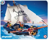 Playmobil  Bateau des Pirates 5810