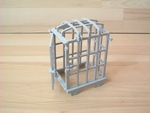 Cage pour charrette moyen-age