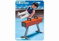Playmobil Gymnaste et cheval d'arçons