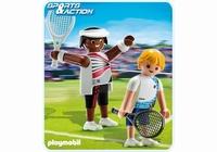 Playmobil 2 Joueurs de tennis