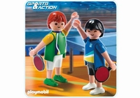 Playmobil  2 Joueurs de tennis de table