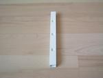 Poteau simple blanc 16,5 cm