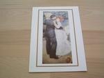 Renoir la valse en plein air 15 x 10 cm
