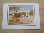 Rousseau la carriole du père juniet 15 x 10 cm