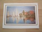 Monet regards à Argenteuil 15 x 10 cm