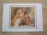 Renoir la lecture 15 x 10 cm