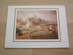 Pissarro le clocher du village 15 x 10 cm