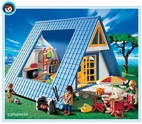 Playmobil Famille maison de vacances 3230