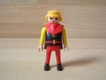 Chevalier col rouge