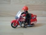 Moto bikers rouge