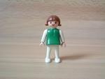 Enfant fille robe verte